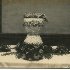 Postales: RIBAS-COMIDA HOMENAJE AL LIBRO-FUENTE CON COCHINILLO-AÑO 1916-FOTOGRÁFICA- MUY RARA. Lote 275480058