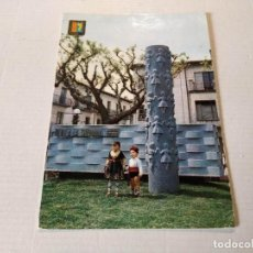 Cartoline: LA GARROTXA - POSTAL OLOT - MONUMENT A LA SARDANA. Lote 275747473