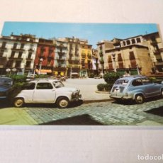 Cartoline: LA GARROTXA - POSTAL OLOT - PLAZA DEL GENERALÍSIMO. Lote 275750948