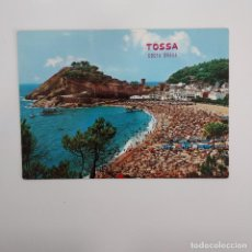 Postales: POSTAL TOSSA DE MAR COSTA BRAVA SOL Y TIPISMO (GERONA-GIRONA). SIN ESCRIBIR SIN CIRCULAR. Lote 275904973