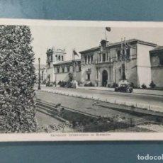 Postales: POSTAL EXPOSICION INTERNACIONAL DE BARCELONA 1929. Lote 276025463