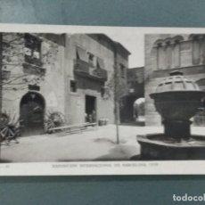 Postales: POSTAL FOTOGRÁFICA B - 21 EXPOSICION INTERNACIONAL DE BARCELONA 1929. Lote 276025973