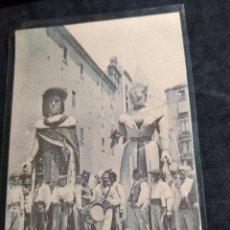 Postais: POSTAL * BARCELONA , GEGANTS DE LA CIUTAT * A .T . V. 226 - 1988. Lote 276297028