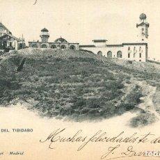 Postales: BARCELONA-CUMBRE DEL TIBIDABO- HAUSER Y MENET Nº 1147-SIN DIVIDIR. Lote 276488668