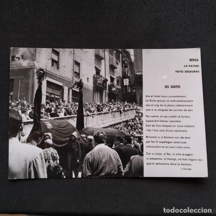 BERGA, LA PATUM, FOTO DESEURAS. LES GUITES. J. FORNELL. (Postales - España - Cataluña Moderna (desde 1940))