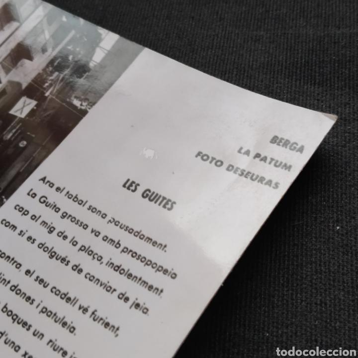 Postales: Berga, La Patum, Foto Deseuras. Les Guites. J. Fornell. - Foto 3 - 276565308