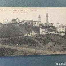 Postales: POSTAL BARCELONA ATV 64 - CUMBRE DEL TIBIDABO. Lote 276577083
