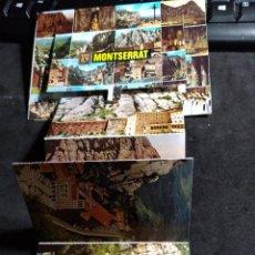 Cartoline: POSTAL * MONTSERRAT , AMB DESPLEGABLE 13 VISTES * 1984. Lote 276655053