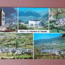 Postales: POSTAL 50189 CYP. PARADOR NACIONAL DE TURISMO. VIELLA. VALLE DE ARÁN. LÉRIDA. 1967. SIN CIRCULAR.. Lote 276731793
