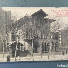 Postales: POSTAL BARCELONA ATV - CONSTRUCCIONES MODERNAS. CÓRTES NUM. 491.. Lote 276744388