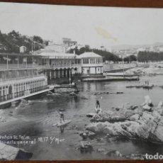 Postales: COLECCIONES MUR. SAN FELIU DE GUIXOLS. BAÑOS ST TELM.- CIRCULADA 1929. Lote 276916673