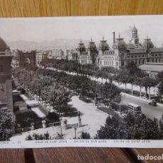Postales: BARCELONA. 75. SALÓN DE SAN JUAN.. Lote 276931303
