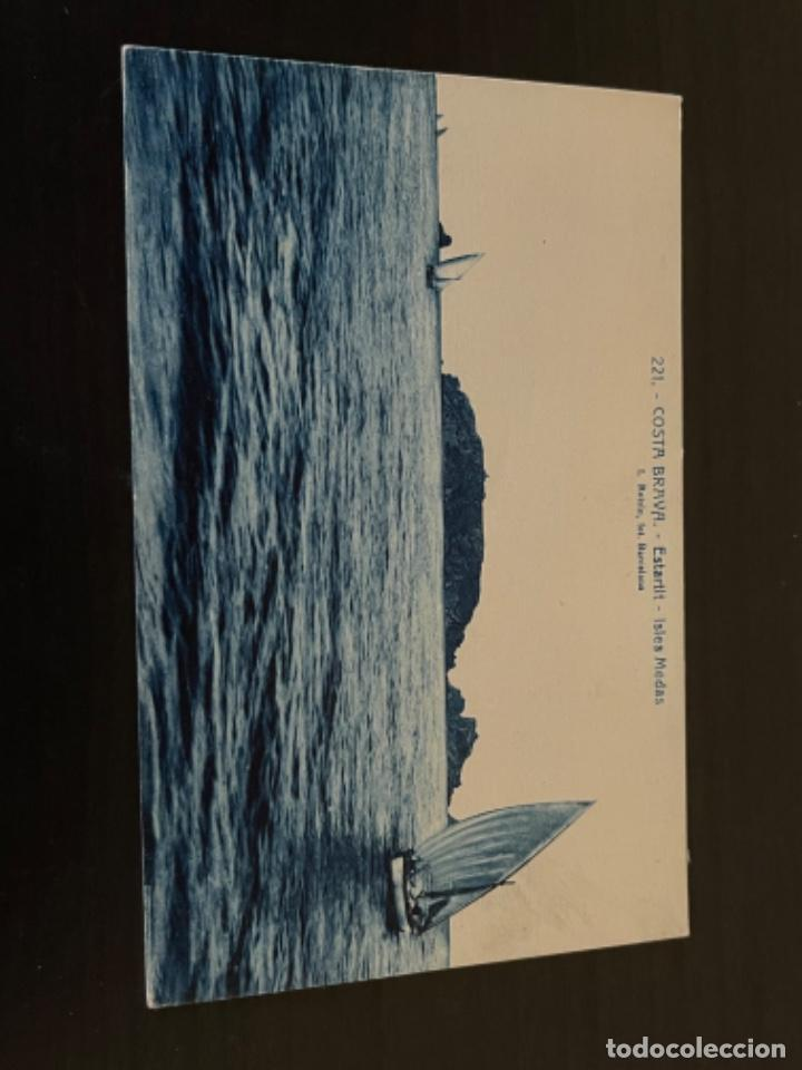 COSTA BRAVA, GERONA, ESTARTIT, ISLES MEDAS, (Postales - España - Cataluña Moderna (desde 1940))