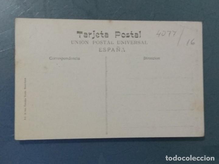 Postales: POSTAL ATV 66 BARCELONA - PUERTO, ESTACIÓN DEL f.c. M.Z y. A. - Foto 2 - 276961748