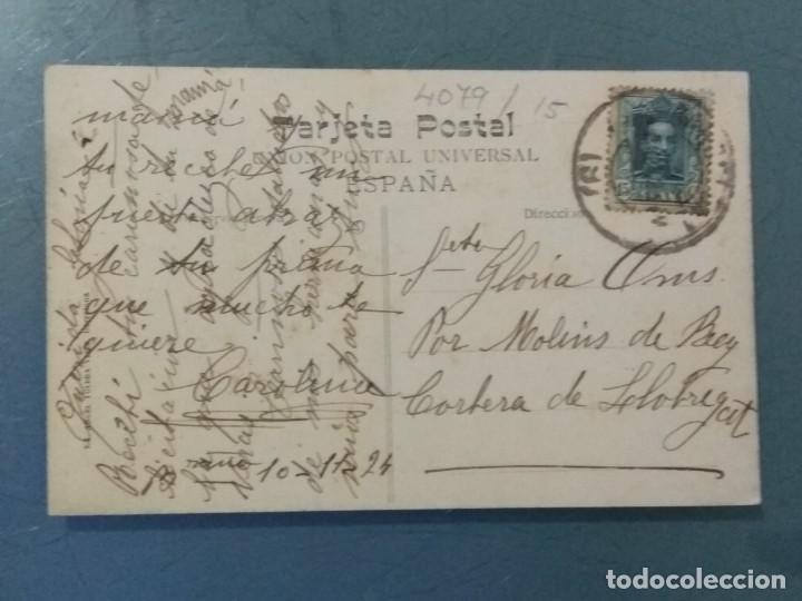 Postales: POSTAL ATV 2894 - BARCELONA - CALLE DE ARGÜELLES (GRAN VIA DIAGONAL), IZQUIERDA. - Foto 2 - 276962053