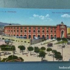 Postales: POSTAL ATV 12 - BARCELONA - PLAZA DE TOROS LAS ARENAS. COLOREADA.. Lote 276965578