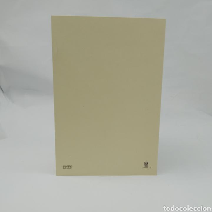 Postales: Postal díptico de Barcelona, SUBI, dibujo de DBladé año 1983, BARRI GÒTIC (Casa dels Canonges) - Foto 3 - 276967318