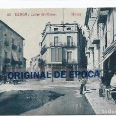 Postales: (PS-66129)POSTAL DE BERGA-CARRER DEL ROSER.HUCH. Lote 276978473