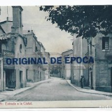 Postales: (PS-66130)POSTAL DE BERGA-ENTRADA A LA CIUTAT.HUCH. Lote 276978478