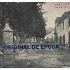 Postales: (PS-66133)POSTAL DE S.GINES DE VILASAR-FUENTE S.PEDRO. Lote 276978488