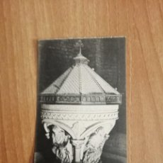 Cartoline: POSTAL MONESTIR DE RIPOLL PICA BAPTISMAL SIN CIRCULAR. Lote 276988433