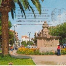 Postales: SAN FELIU DE GUIXOLS MONUMENTO A GARRETA 1980 POSTAL CIRCULADA. Lote 277021753