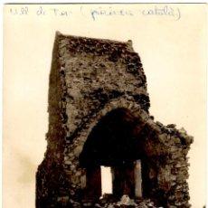 Cartoline: PIRINEU CATALÀ - ULL DE TER - XALET VELL DEL C. E. C. - 147X105 MM. Lote 277071233