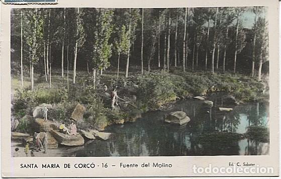 X125870 CATALUNYA BARCELONA PROVINCIA OSONA SANTA MARIA DE CORCO L' ESQUIROL FUENTE DEL MOLINO (Postales - España - Cataluña Antigua (hasta 1939))