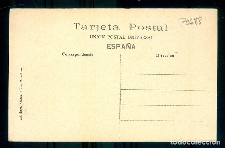Postales: NUMULITE P0688 Postal ATV A.T.V. Sucesos de Barcelona Convento Religiosas Jesús María Santa Eulalia - Foto 2 - 277172238