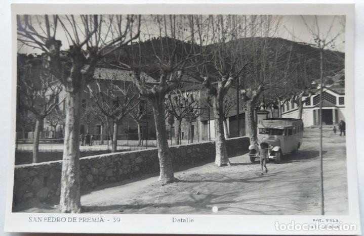 SAN PEDRO DE PREMIA DETALLE (Postales - España - Cataluña Antigua (hasta 1939))