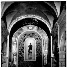 Postales: SAN LORENZO SAVALL - ALTAR MAYOR DE LA IGLESIA - ED. LIB. CARRERAS Nº 1 - 139X89 MM. - INÉDITA EN TO. Lote 277180848