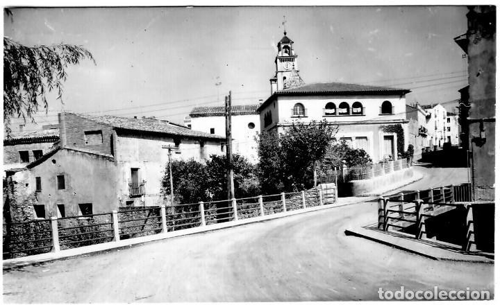 SAN LORENZO SAVALL - VISTA PARCIAL DESDE PONT DE CAL MAURICI - ED. LIB. CARRERAS Nº 1 - INÉDITA EN (Postales - España - Cataluña Moderna (desde 1940))
