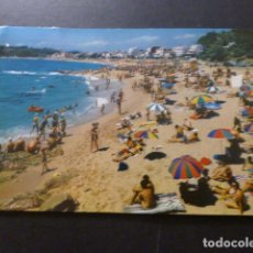 Postales: LLORET DE MAR GERONA PLAYA DEL CAVALL BERNAT. Lote 277300818