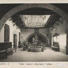 Postales: X125880 CATALUNYA BARCELONA PROVINCIA VALLES ORIENTAL SAN SANT CELONI PATIO INTERIOR RECTORIA VELLA. Lote 277617638
