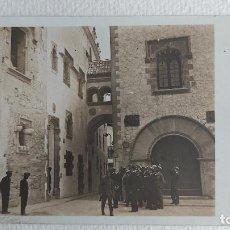 Postales: R-140.- POSTAL FOTOGRAFICA DE -- SITGES -- VISITA A -- MAR I CEL -- JULIOL 1918.- VER FOTOS. Lote 277621023
