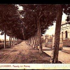Postales: POSTAL PALAUTORDERA PASSEIG DEL REMEY. Lote 277683678
