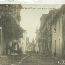 Postales: P1.- SANTA COLOMA DE FARNES-CARRER MAJOR ARREBAL-POSTAL FOTOGRAFICA-GIRONA. Lote 277695173