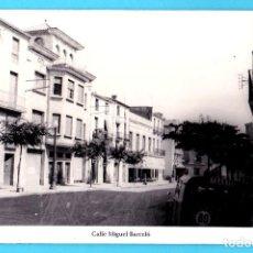 Postales: FALSET. CALLE MIGUEL BARCELÓ. TARRAGONA. FOTO AGUILÓ.. Lote 277714803