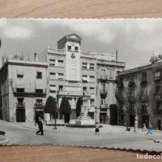Postales: POSTAL REUS 3 PLAZA DE CATALUÑA. ED. GARCÍA GARRABELLA. CIRCULADA. AÑOS 60. Lote 277716033