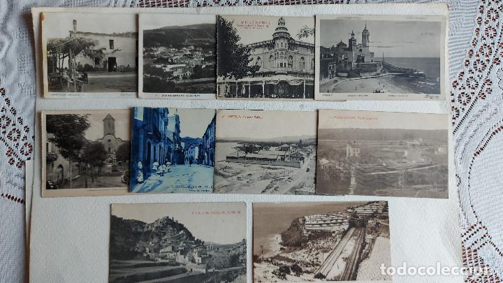 R-154.- LOTE DE -- 10 -- POSTALES DE- CATALUÑA- DE DIFERENTES LOCALIDADES DE LA COMUNIDAD , VER FOTO (Postales - España - Cataluña Antigua (hasta 1939))