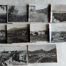 Postales: R-156.- LOTE DE -- 10 -- POSTALES DE- CATALUÑA- DE DIFERENTES LOCALIDADES DE LA COMUNIDAD , VER FOTO. Lote 277738718