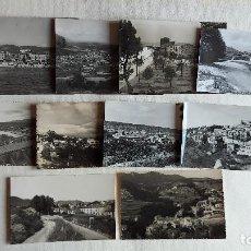 Postales: R-157.- LOTE DE -- 10 -- POSTALES DE- CATALUÑA- DE DIFERENTES LOCALIDADES DE LA COMUNIDAD , VER FOTO. Lote 277738978