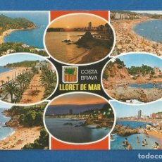 Postales: POSTAL SIN CIRCULAR LLORET DE MAR 16109 COSTA BRAVA EDITA INTERNACIONAL COLOR. Lote 277842743