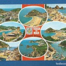 Postales: POSTAL SIN CIRCULAR TOSSA DE MAR 1714 COSTA BRAVA EDITA INTERNACIONAL COLOR. Lote 277843078