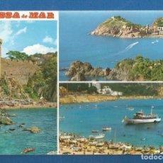 Postales: POSTAL SIN CIRCULAR TOSSA DE MAR 909 COSTA BRAVA EDITA FABREGAT. Lote 277843098