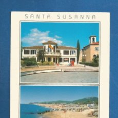 Postales: POSTAL SIN CIRCULAR SANTA SUSSANA 1482 COSTA DEL MARESME EDITA PIC. Lote 277843153
