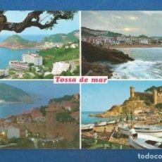 Postales: POSTAL SIN CIRCULAR TOSSA DE MAR 941 COSTA BRAVA EDITA FABREGAT. Lote 277843263