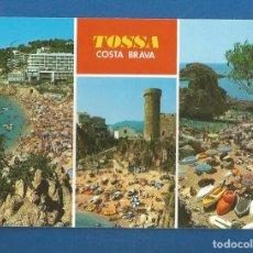 Postales: POSTAL SIN CIRCULAR TOSSA DE MAR 946 COSTA BRAVA EDITA FABREGAT. Lote 277843303