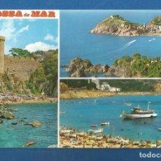 Postales: POSTAL SIN CIRCULAR TOSSA DE MAR 909 COSTA BRAVA EDITA FABREGAT. Lote 277843323