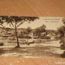 Postales: POSTAL DE SAN FELIU DE GUIXOLS. Lote 278317008
